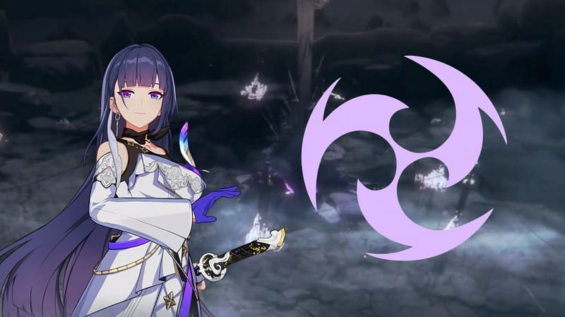 The Raiden Mei from Honkai Impact 3rd