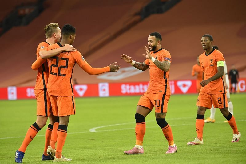 Netherlands face Latvia in Amsterdam on Saturday