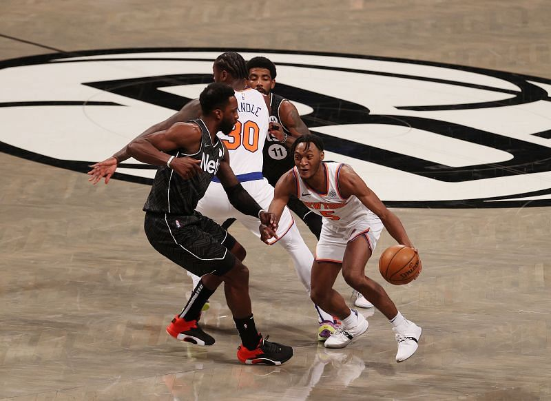 New York Knicks rookie Immanuel Quickley