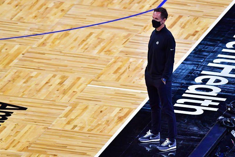 Nets head coach Steve Nash