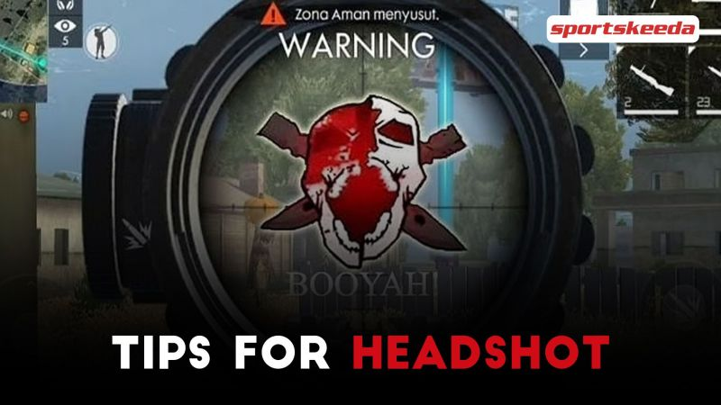 One of the best things that players can do to defeat their opponents in Free Fire is to land accurate single-tap headshots (Image via Sportskeeda)