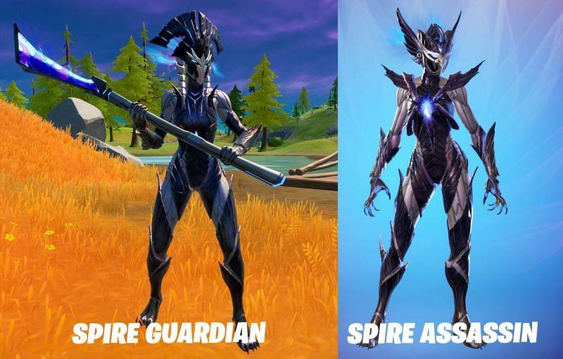 Spire Guardian (left) and Spire Assassin (right) (Images via Reddit)