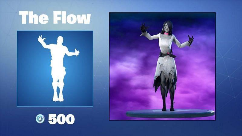 The Flow Emote (Images via Epic Games)