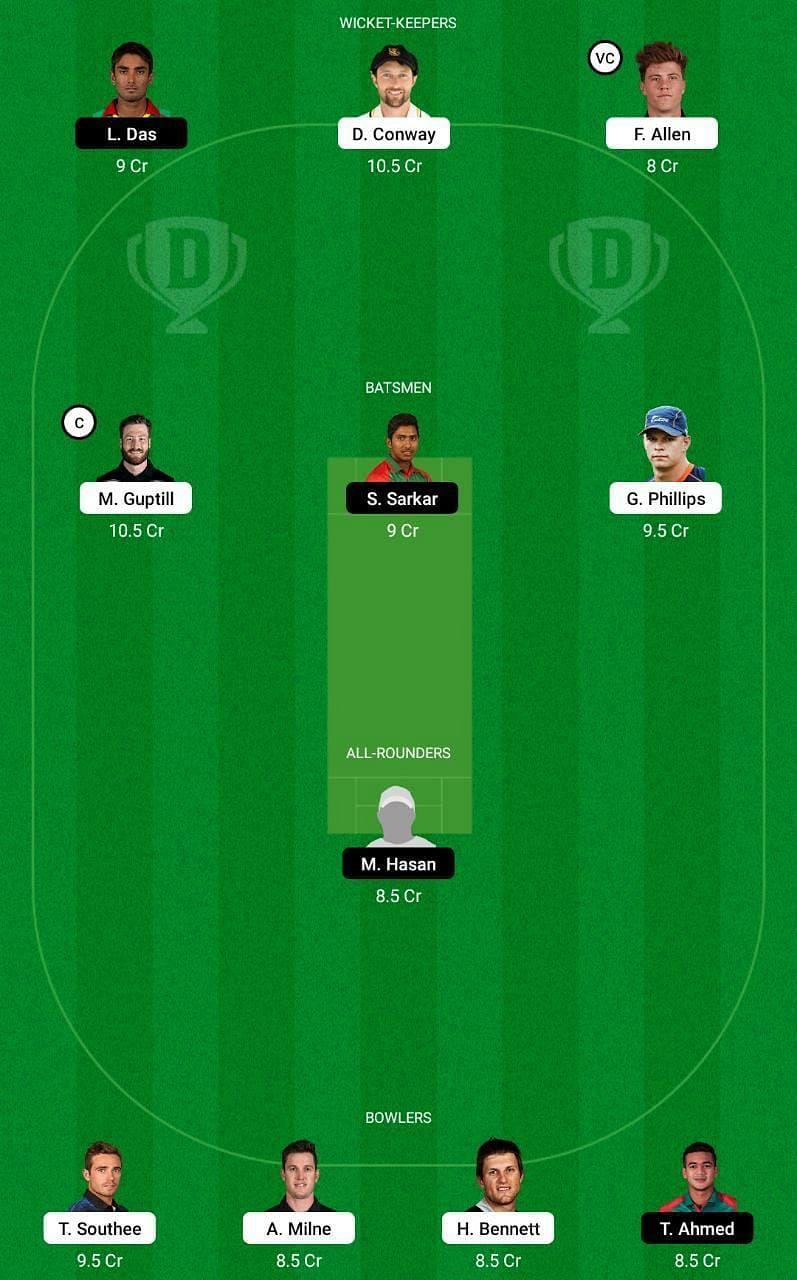 NZ vs BAN 3rd T20I Dream11 Tips