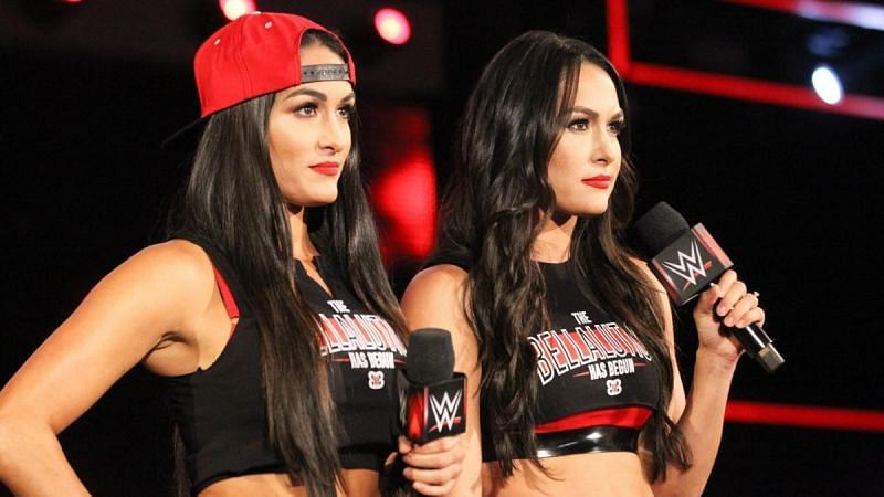 The Bella Twins have not competed in a WWE match since 2018