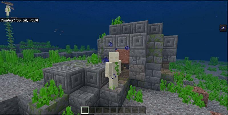 The perfect start to a Minecraft treasure hunting adventure (Image via Mojang)