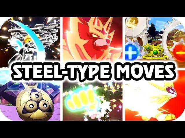Steel-Type Moves (Image via Mixeli on YouTube)