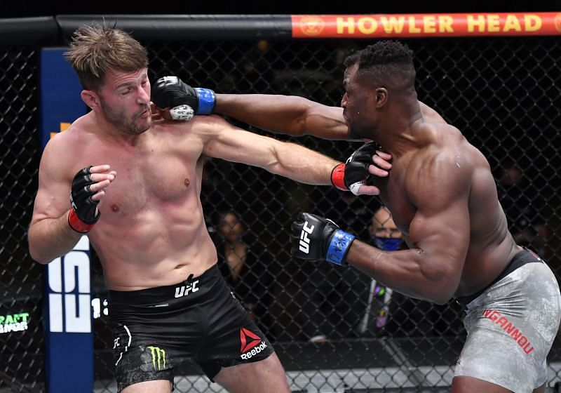 Stipe Miocic suffered KO loss in the hands of Francis Ngannou at UFC 260