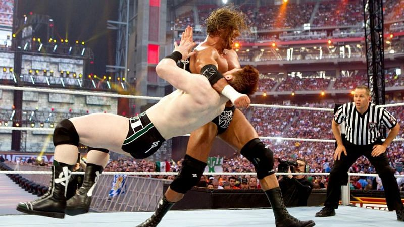 Sheamus squared off against Triple H at WrestleMania XXVI in 2010