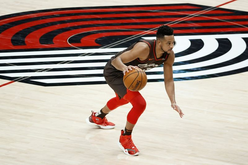 C.J. McCollum recorded 35 points and 8 assists in the win