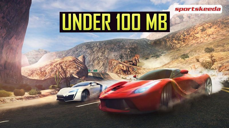 Racing games like Asphalt taking less than 100 MB space
