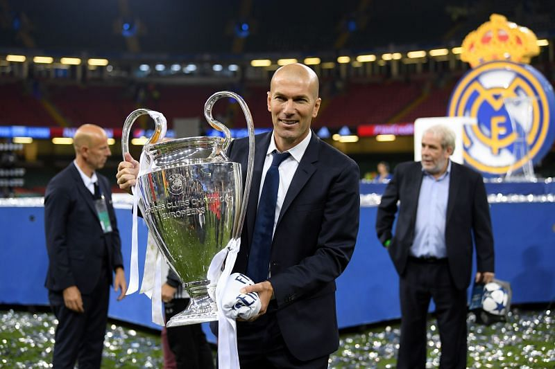 Zinedine Zidane has achieved success as Real Madrid manager