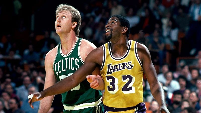 Larry Bird and Magic Johnson made the NBA explode in the 1980s.