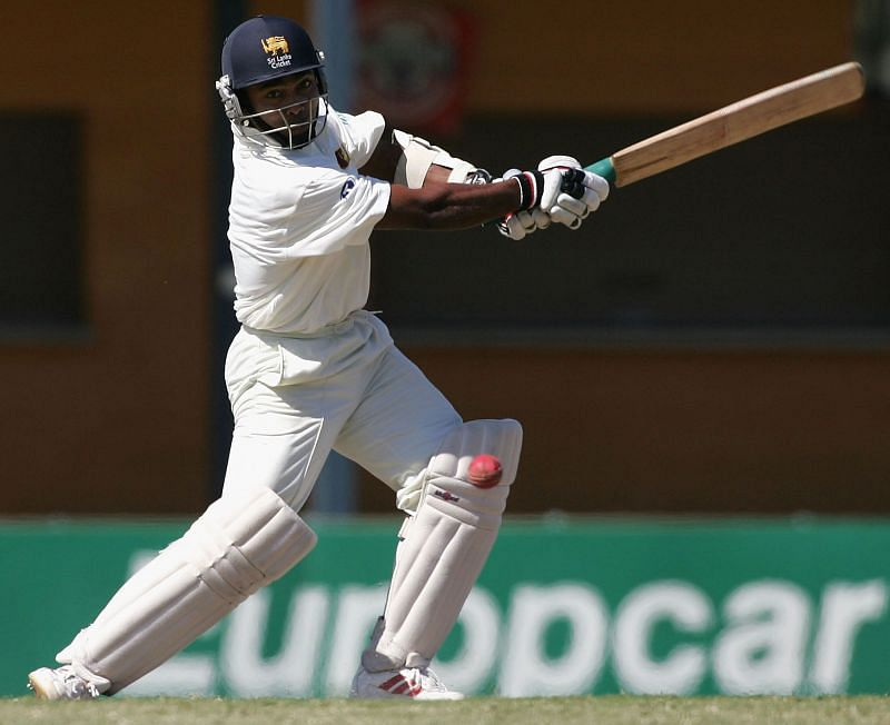 Romesh Kaluwitharana scored a century on his Test debut for Sri Lanka.