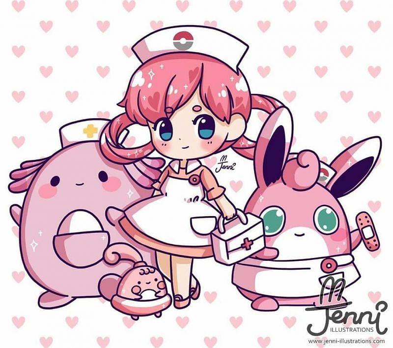 Nurse Joy (Image via Pinterest)