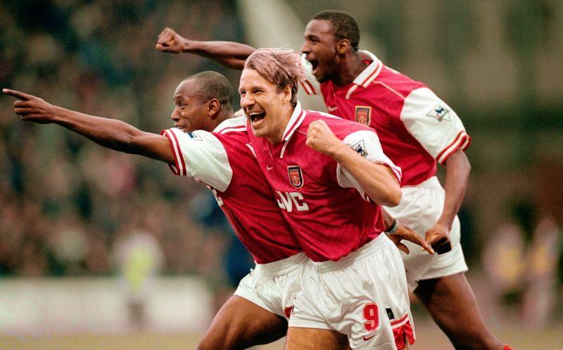 Wimbledon vs Arsenal FA Carling Premier League 1996