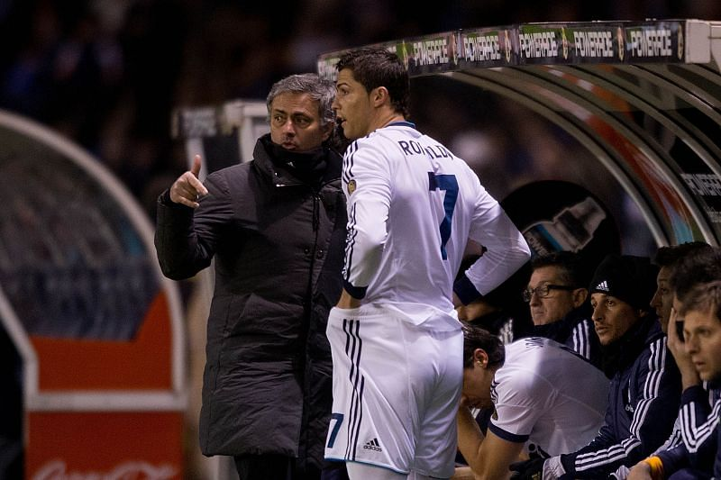 Jose Mourinho could be reunited with Cristiano Ronaldo.