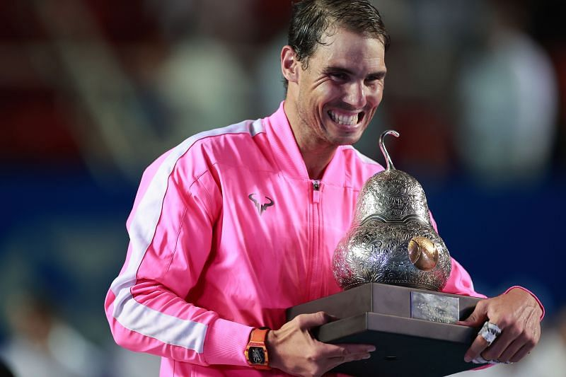 Rafael Nadal won the Acapulco event last year