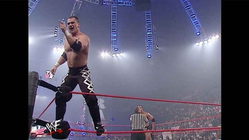 Lance Storm scored a shock count-out victory over The Rock on RAW in 2001