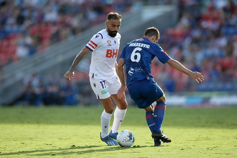 Perth Glory take on Newcastle Jets this weekend