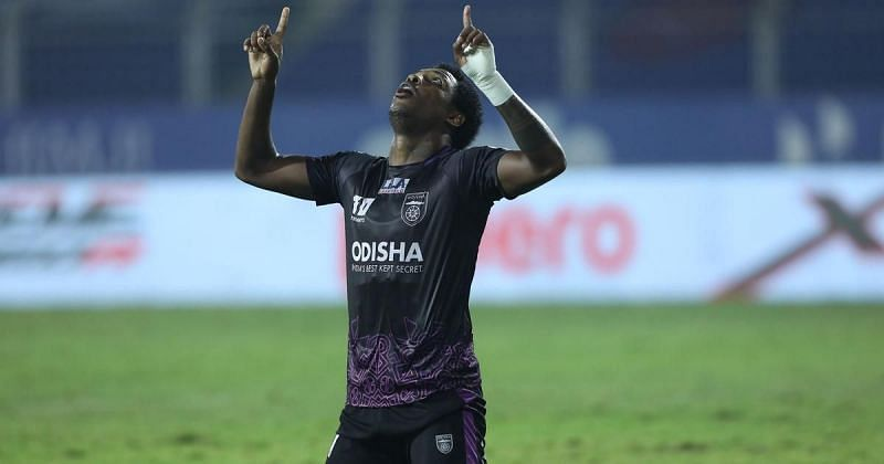 Diego Mauricio scored more than half of Odisha FC