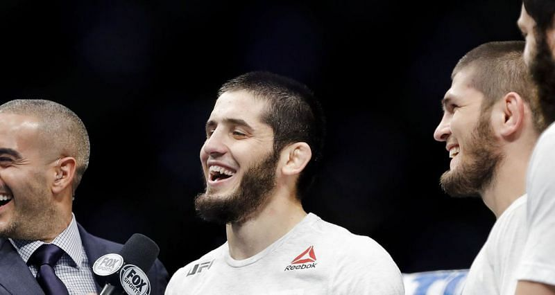 Top UFC lightweight Islam Makhachev is the longtime friend and teammate of Khabib Nurmagomedov