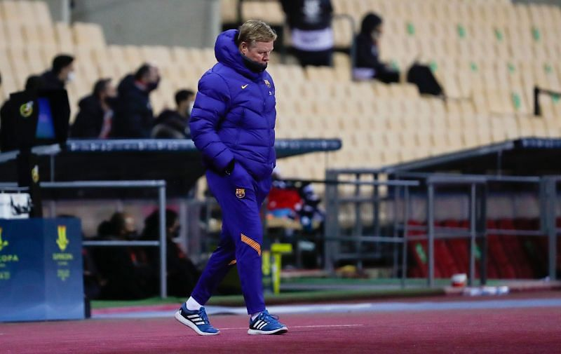 FC Barcelona are showing signs of progress under manager Ronald Koeman