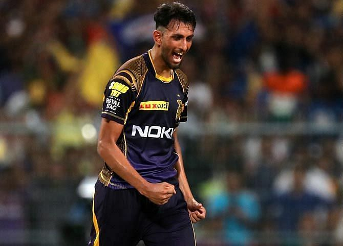 Prasidh Krishna has given a good account of himself for KKR in the IPL