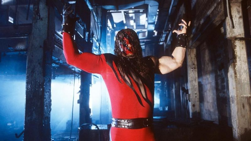 The Kane character debuted on WWE television in October 1997