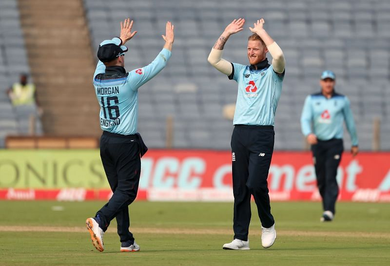 Ben Stokes got three wickets in the first ODI.