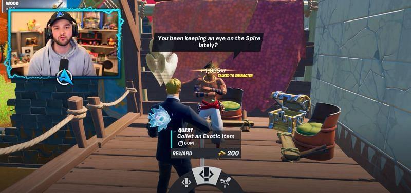 NPCs across the map provide free loot. {Image via Ali-A}
