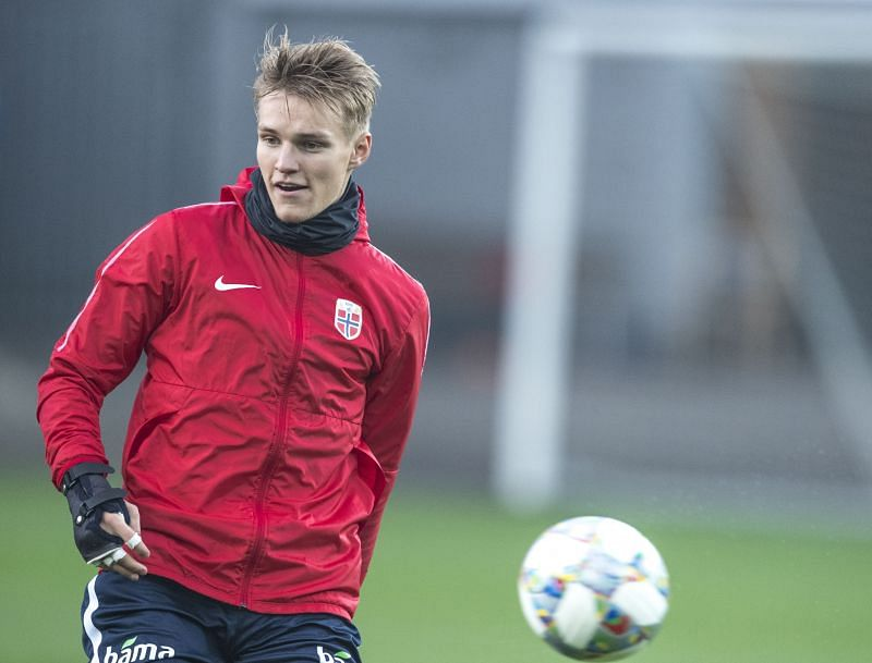Martin Odegaard is a doubt for this clash
