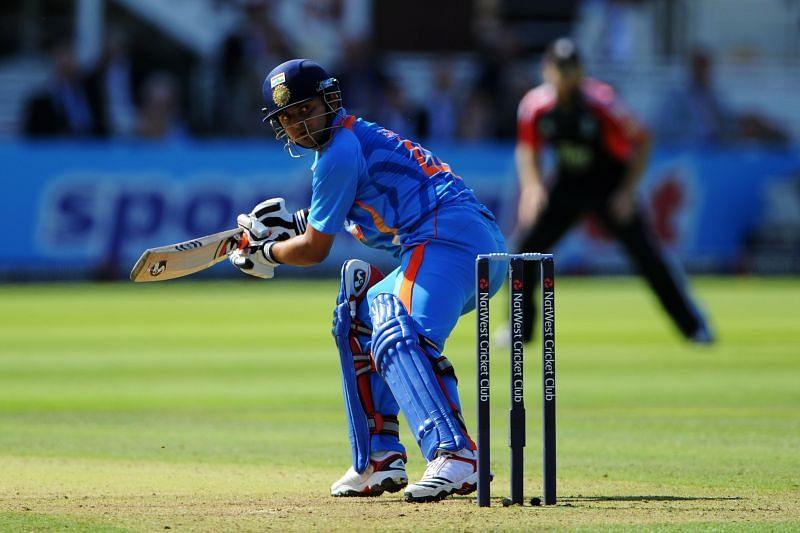 Suresh Raina starred in the India-England tied ODI in 2011.