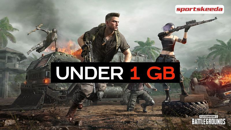 Android games like PUBG under 1 GB