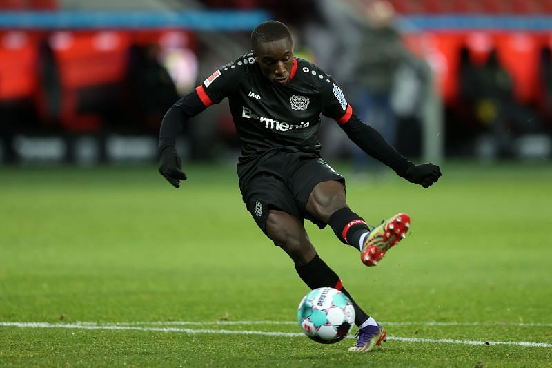 Moussa Diaby has impressed for Bayer Leverkusen