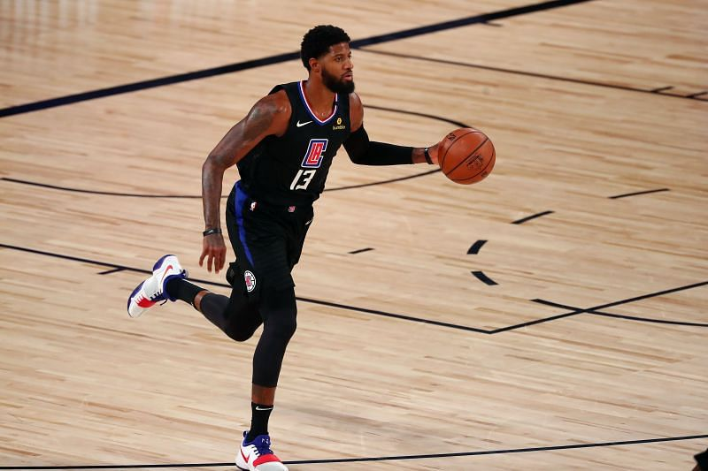 Paul George (#13) of the LA Clippers