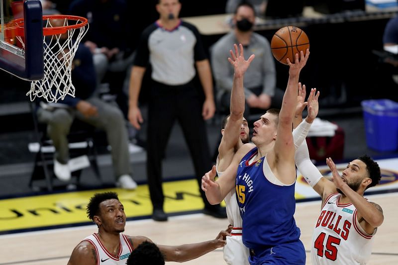 Nikola Jokic (#15) of the Denver Nuggets