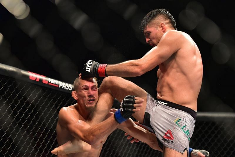 Vicente Luque took out Niko Price in an entertaining battle in 2017.