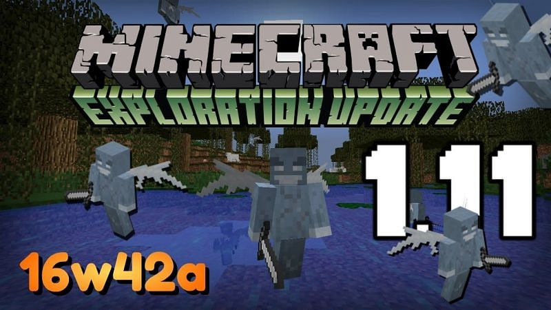Minecraft update that vexes were updated (Image via YouTube)