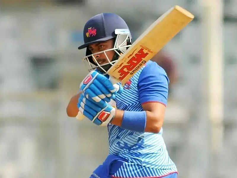 Prithvi Shaw hammered another hundred in the 2020-21 Vijay Hazare Trophy.
