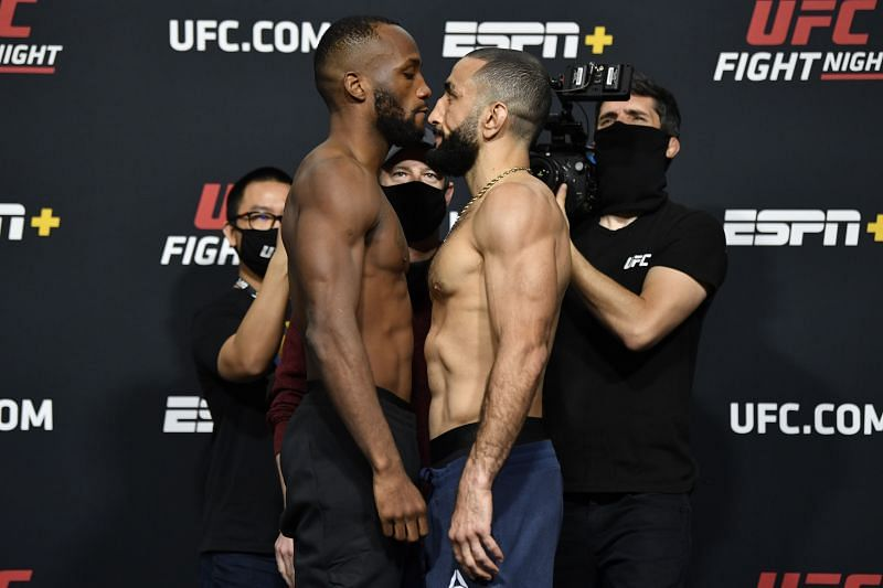 UFC Fight Night: Edwards v Muhammad Weigh-in