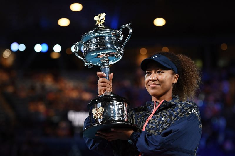 Naomi Osaka won the 2021 Australian Open, where fans were allowed in limited capacity