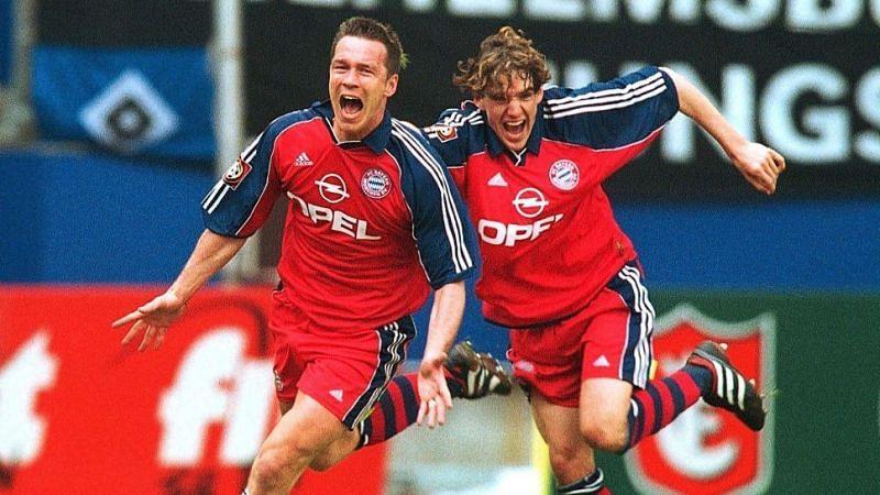 Bayern Munich won the 2001 Bundesliga in dramatic circumstances.