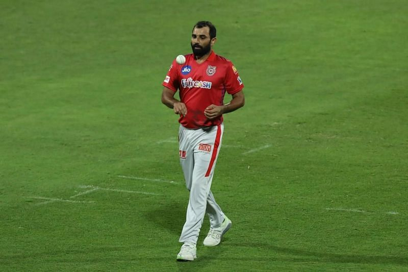 Mohammed Shami during IPL 2020