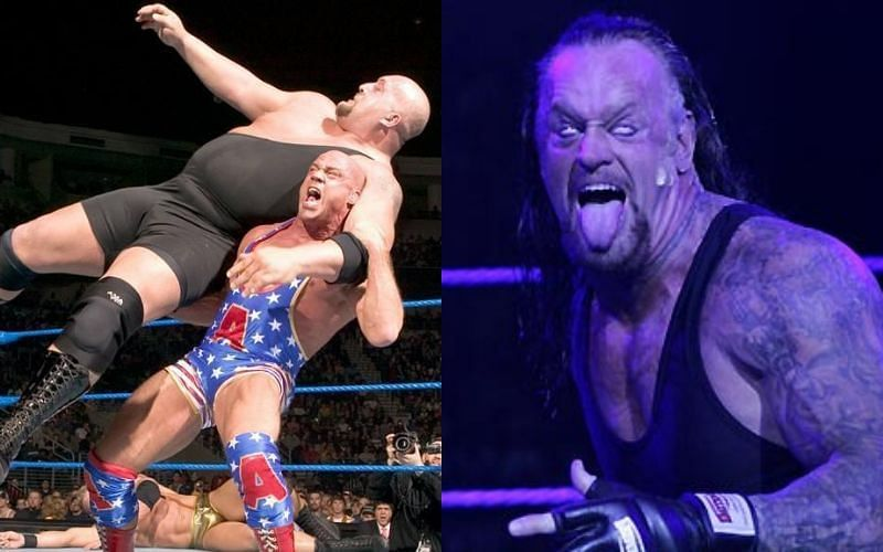 Undertaker was subtle with his move