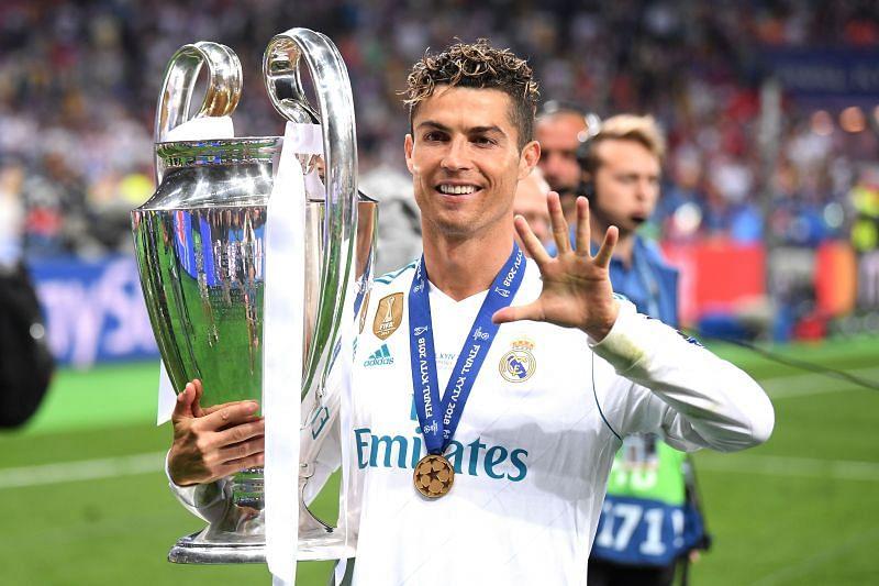 Cristiano Ronaldo is a five-time UEFA Champions League winner.