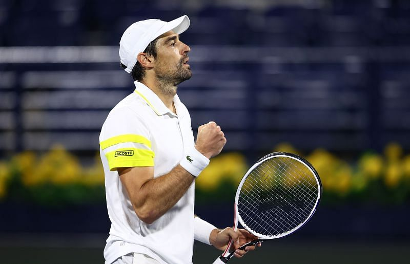 Jeremy Chardy came from a set down to beat Karen Khachanov at Dubai