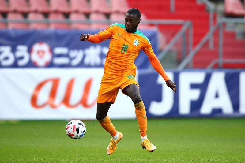 Nicolas Pepe will be in action for Ivory Coast against Niger