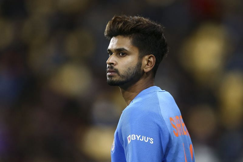 Shreyas Iyer lost his wicket early in the Vijay Hazare Trophy today