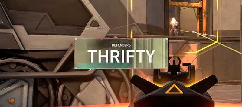 Thrifty rounds are important for team morale (Image via Valorant)